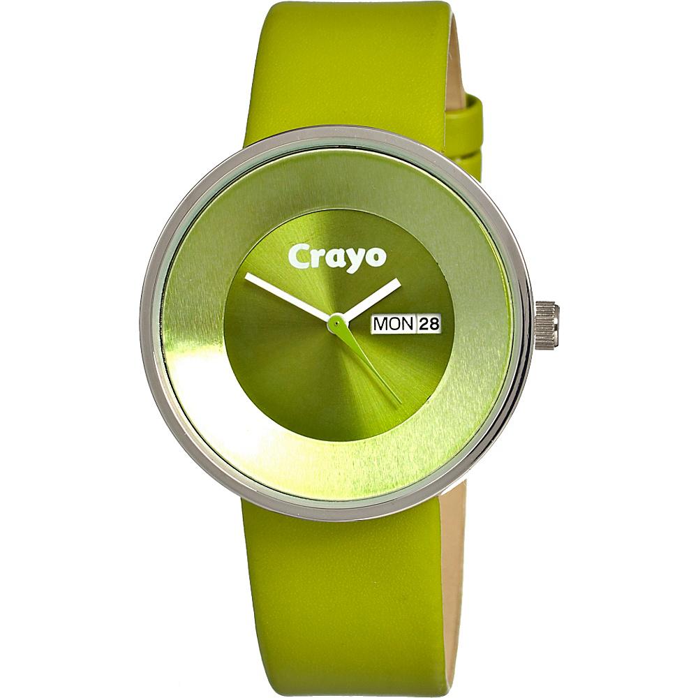 Crayo Button Green Crayo Watches