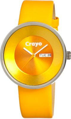 Crayo Button Yellow - Crayo Watches