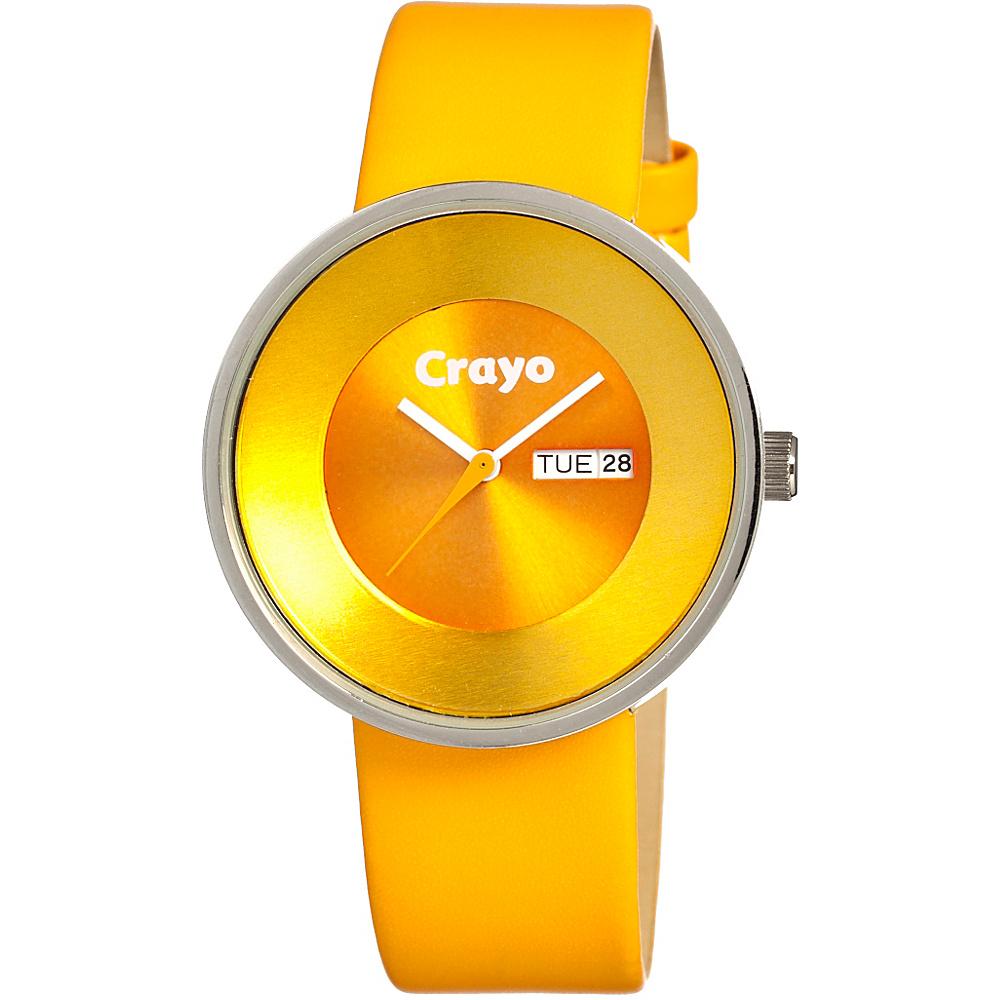 Crayo Button Yellow Crayo Watches