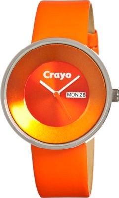 Crayo Button Orange - Crayo Watches