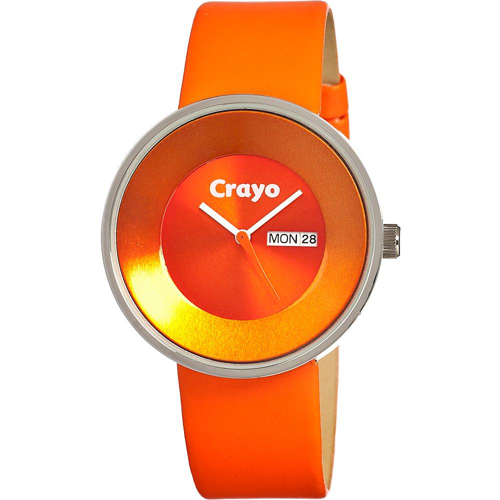 Crayo Button Orange Crayo Watches