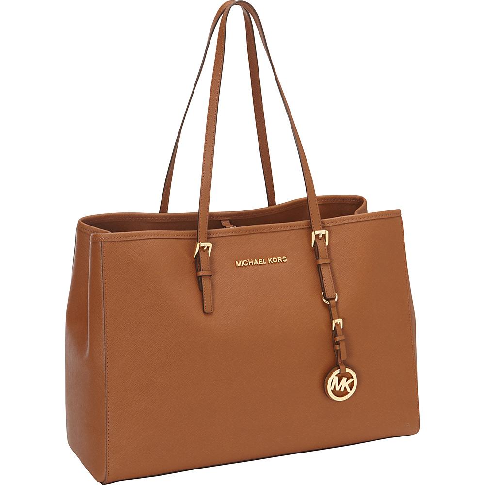 MICHAEL Michael Kors Jet Set Travel Large E/W Tote Luggage - MICHAEL Michael Kors Designer Handbags