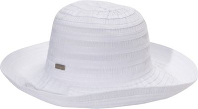 Betmar New York Classic Sunshade One Size - White - Betmar New York Hats/Gloves/Scarves
