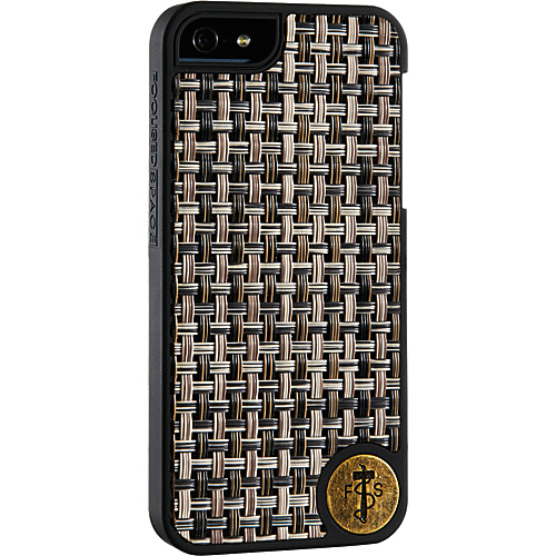 Focused Space The Interlock iPhone 5 Case BROWN - Focused Space Personal Electronic Cases