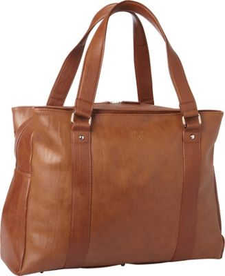 Women In Business Francine Collection - Bond Street 17 inch Laptop Weekender Brown - Women In Business Women's Business Bags