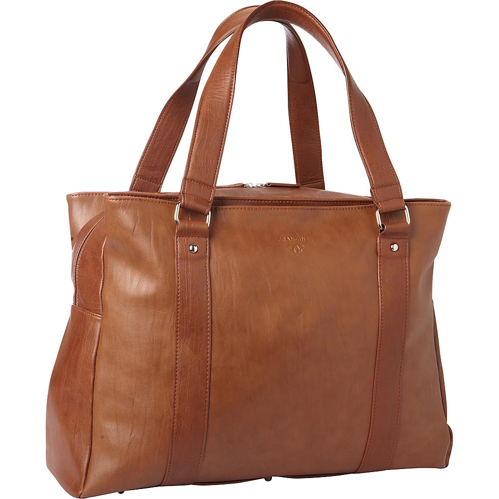 Women In Business Francine Collection Bond Street 17 Laptop Weekender Brown Women In Business Women s Business Bags