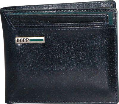 Dopp Beta RFID Convertible Credit Card Billfold Navy - Dopp Men's Wallets