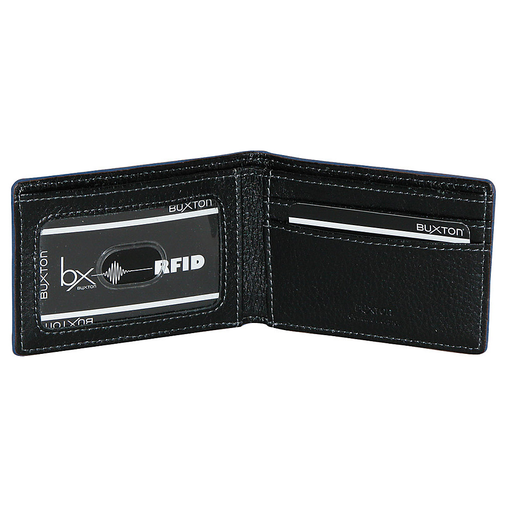 Buxton RFID Front Pocket Slimfold Green - Buxton Men's Wallets