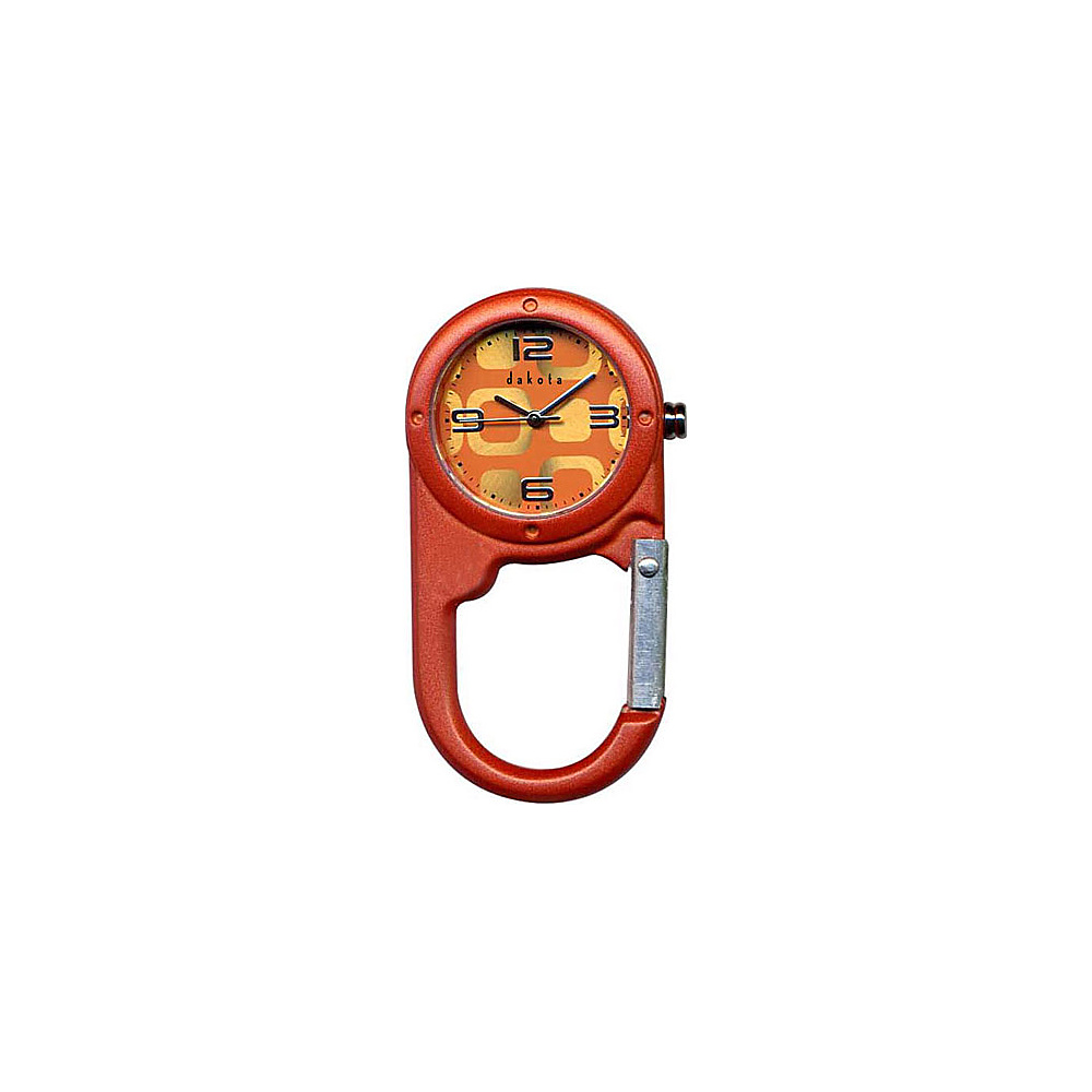 Dakota Watch Company Mini Mini Clip Orange - Dakota Watch Company Watches