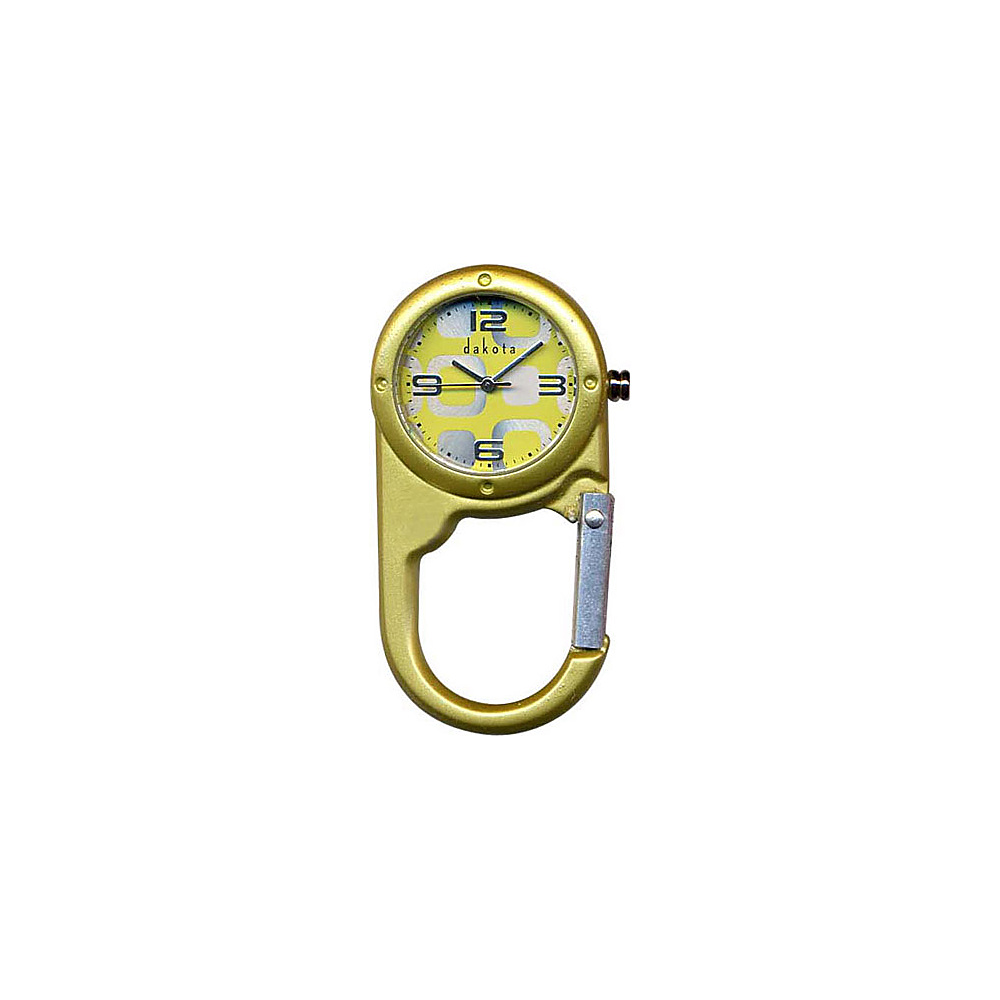 Dakota Watch Company Mini Mini Clip Yellow - Dakota Watch Company Watches