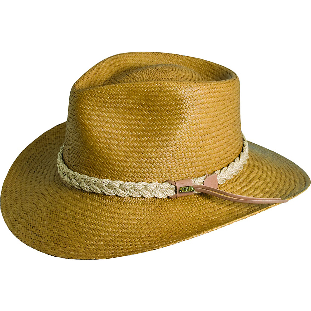 d348b370f9c UPC 016698288941 product image for Scala Hats Panama Outback Hat TOBACCO-XL  - Scala Hats ...