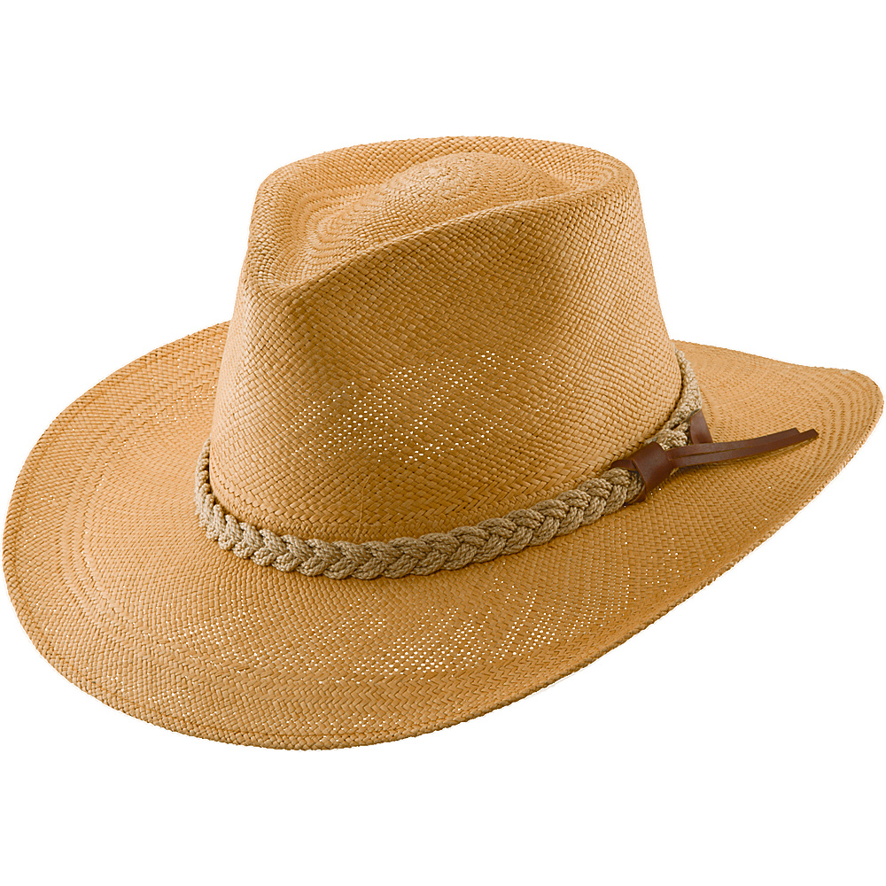 Scala Hats Panama Outback Hat L - Putty-Large - Scala Hats Hats/Gloves/Scarves