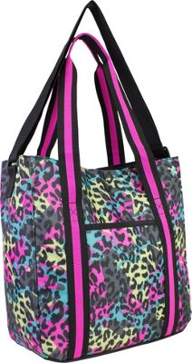 Fuel Laptop Organizational Tote Neon Cheetah - Fuel Women's Business Bags