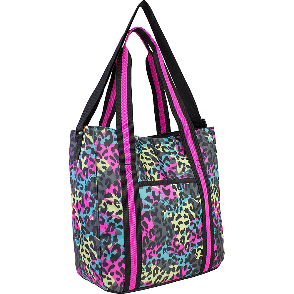 Fuel Laptop Organizational Tote Neon Cheetah Fuel Women s Business Bags