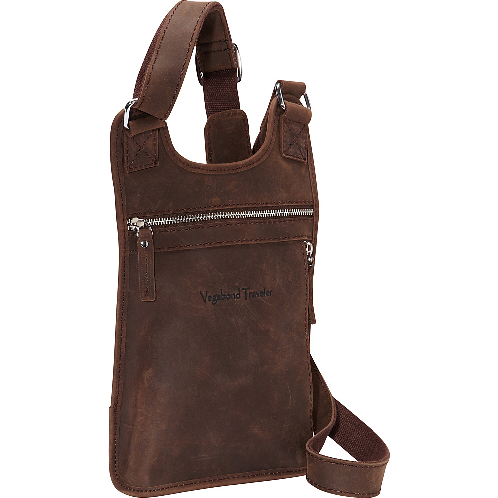 Vagabond Traveler Leather Sling Dark Brown - Vagabond Traveler Other Mens Bags - Work Bags & Briefcases, Other Men's Bags
