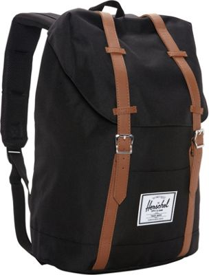 Herschel Supply Co. Retreat Laptop Backpack - 15 inch Black - Herschel Supply Co. Business & Laptop Backpacks