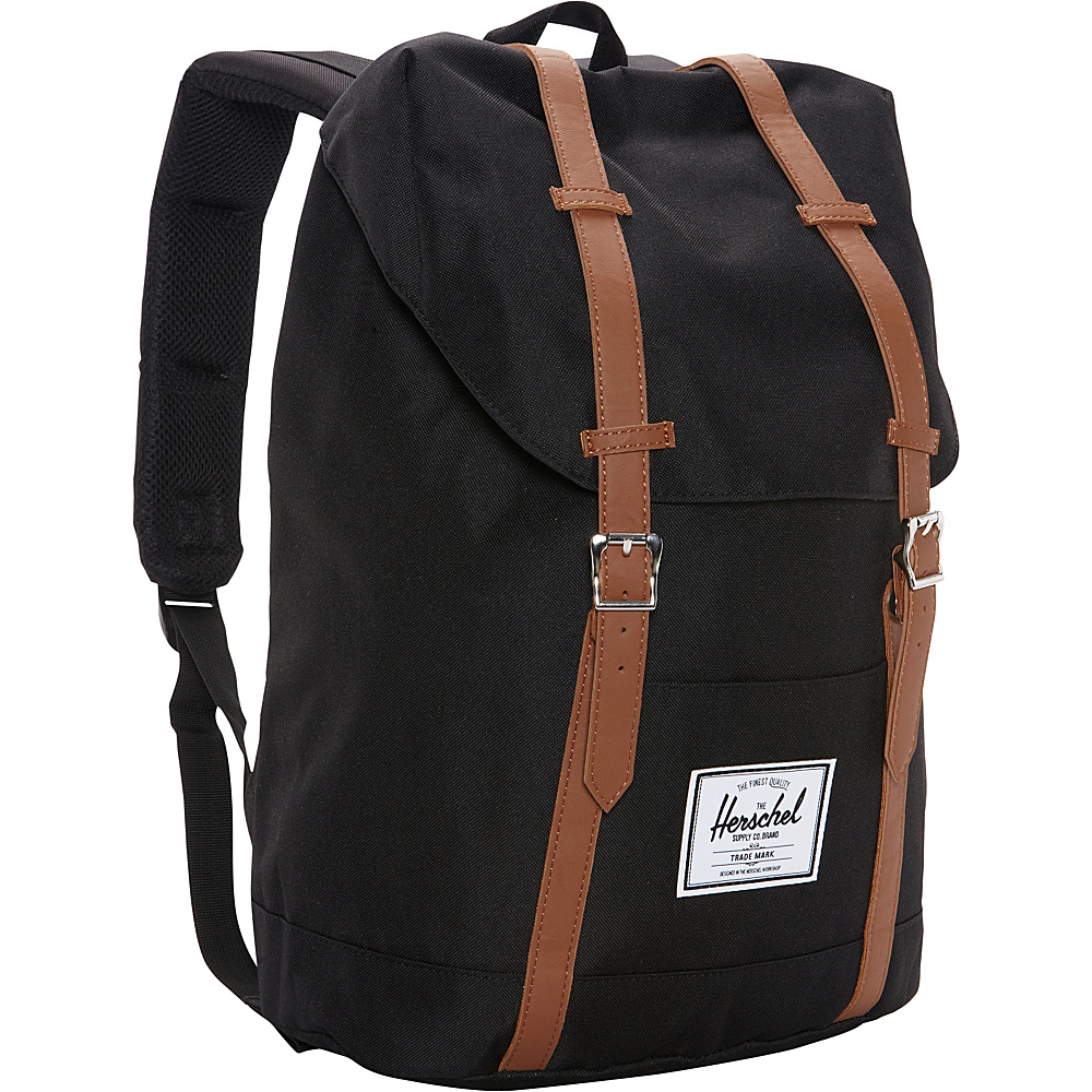 Herschel Supply Co. Retreat Laptop Backpack Black Herschel Supply Co. Business Laptop Backpacks
