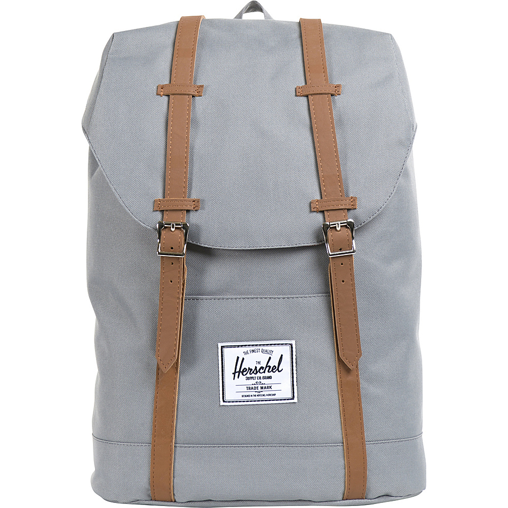 "Herschel Supply Co. Retreat Laptop Backpack - 15"" Grey - Herschel Supply Co. Business & Laptop Backpacks"