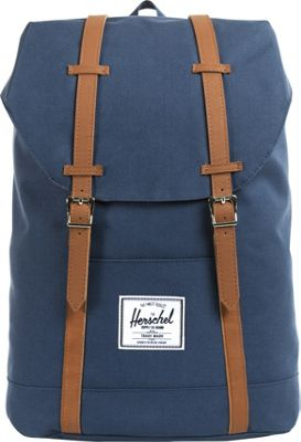 Herschel Supply Co. Retreat Laptop Backpack - 15 inch Navy - Herschel Supply Co. Business & Laptop Backpacks