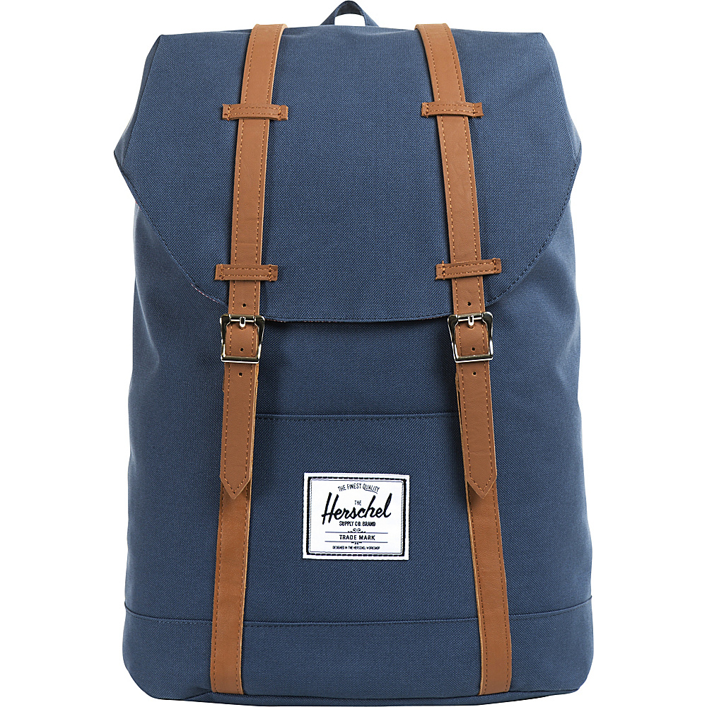 Herschel Supply Co. Retreat Laptop Backpack Navy Herschel Supply Co. Business Laptop Backpacks