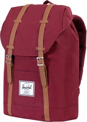 Herschel Supply Co. Retreat Laptop Backpack - 15 inch Windsor Wine - Herschel Supply Co. Business & Laptop Backpacks
