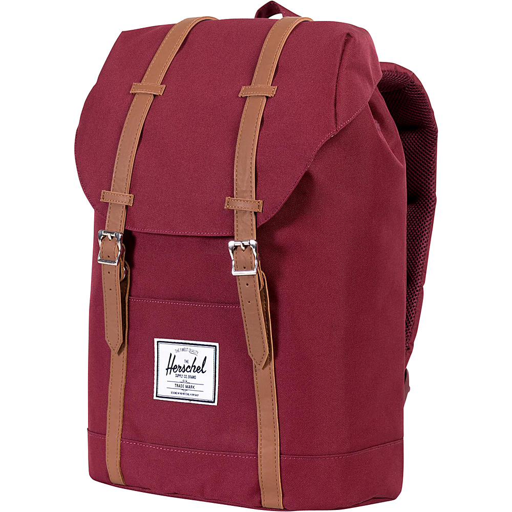 Herschel Supply Co. Retreat Laptop Backpack Windsor Wine Herschel Supply Co. Business Laptop Backpacks