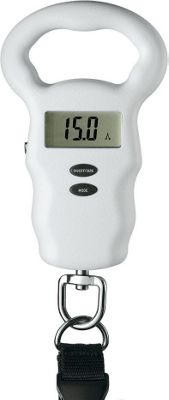 Travel Smart by Conair Luggage Scale with Built-In Tape Measure White - Travel Smart by Conair Luggage Accessories
