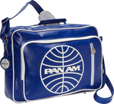 Pan Am Originals - Secret Agent Reloaded Pan Am Blue/Vintage White - Pan Am Luggage Totes and Satchels
