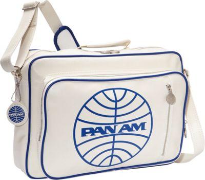 Pan Am Originals - Secret Agent Reloaded Vintage White/Pan Am Blue - Pan Am Luggage Totes and Satchels