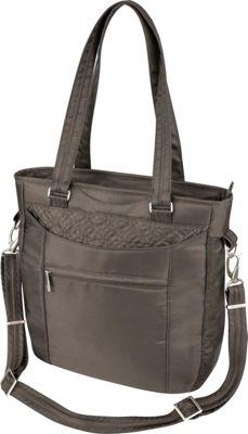 Travelon Anti-Theft Signature Tote Truffle - Travelon Gym Bags