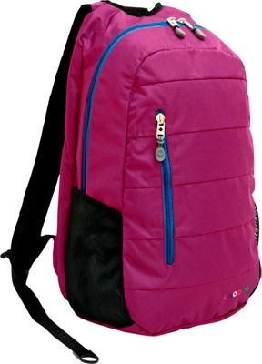 J World New York Collis Laptop Backpack Orchid - J World New York Business & Laptop Backpacks