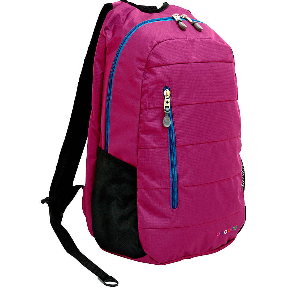 J World New York Collis Laptop Backpack Orchid - J World New York Business & Laptop Backpacks - Backpacks, Business & Laptop Backpacks