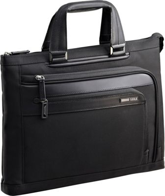 Zero Halliburton Profile Small Boarding Tote Black - Zero Halliburton Non-Wheeled Business Cases