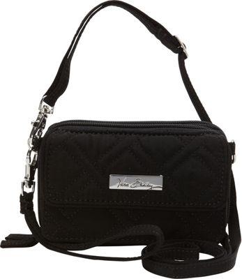 Vera Bradley All In One Crossbody - Solids Black - Vera Bradley Fabric Handbags
