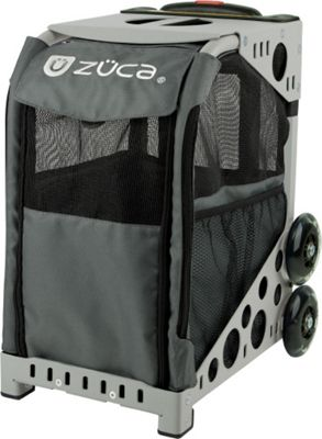ZUCA Sport Pet Carrier Charcoal/Gray Frame Charcoal - ZUCA Pet Bags