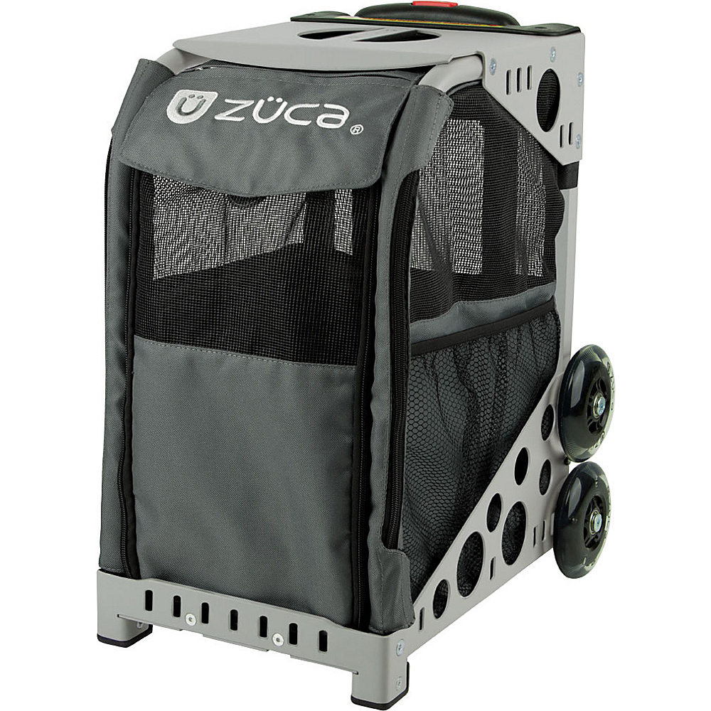 ZUCA Sport Pet Carrier Charcoal Gray Frame Charcoal ZUCA Pet Bags