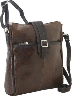 Piel Vintage Leather Slim Tablet Shoulder Bag Vintage Brown - Piel Other Men's Bags