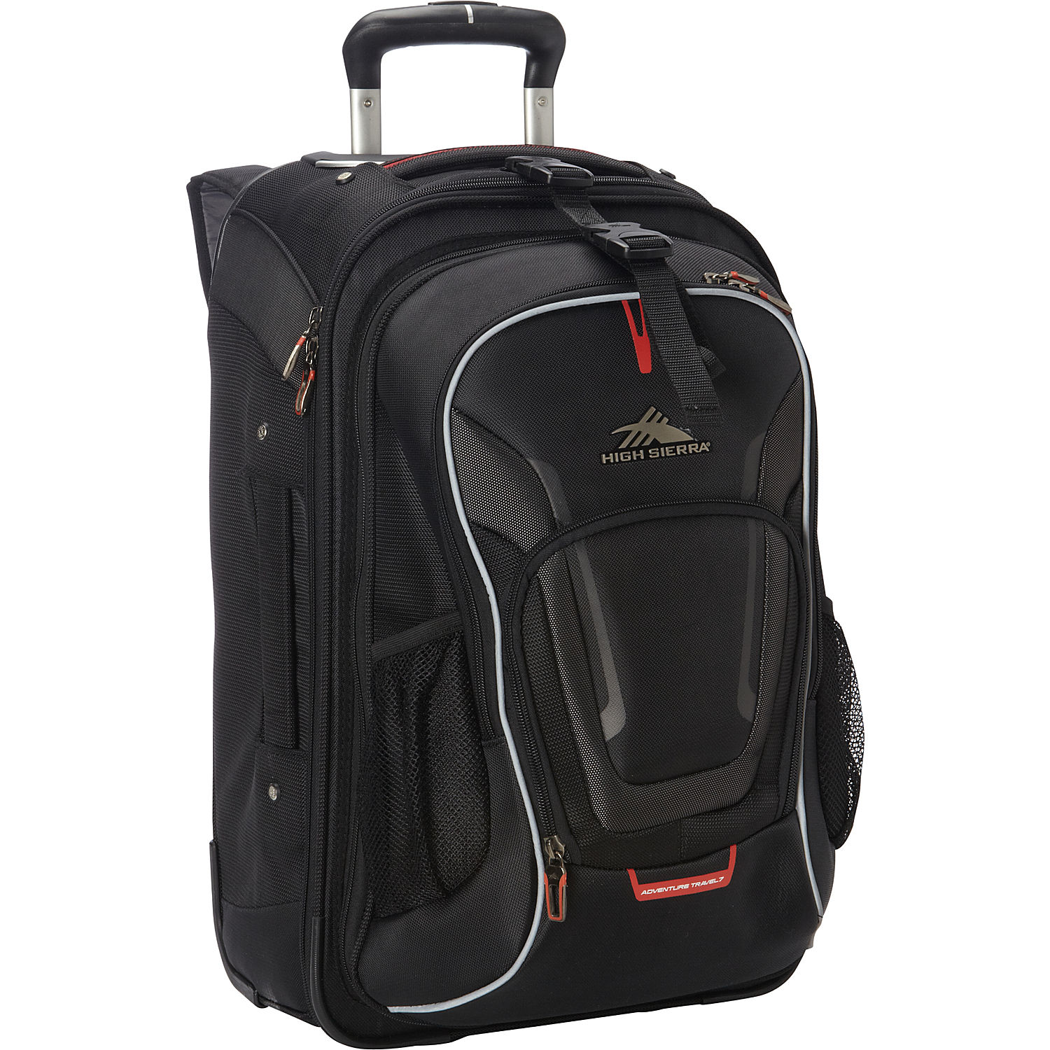 high sierra at7 carry on wheeled backpack with removable. Black Bedroom Furniture Sets. Home Design Ideas