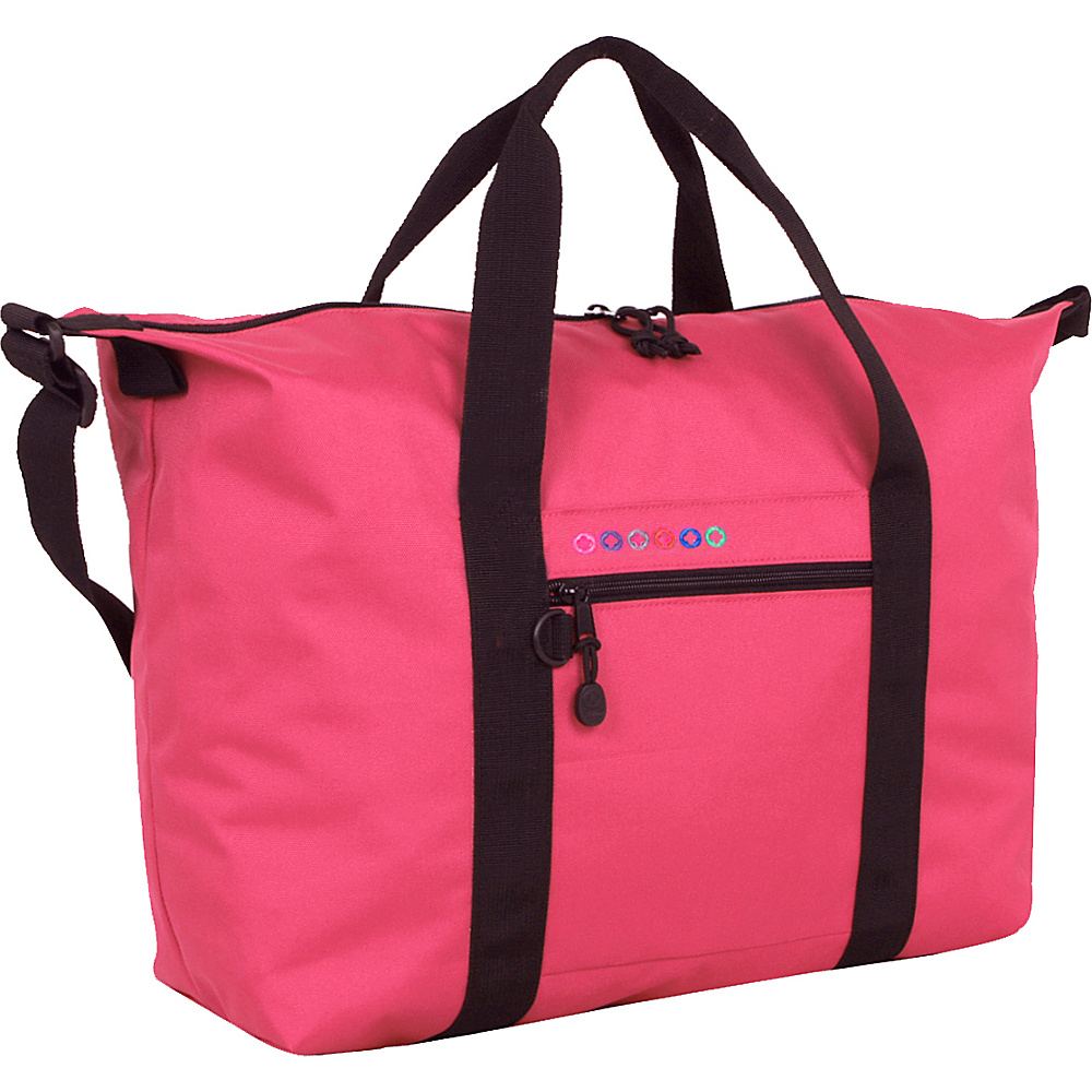 J World New York Lori Duffel Bag Pink - J World New York Travel Duffels