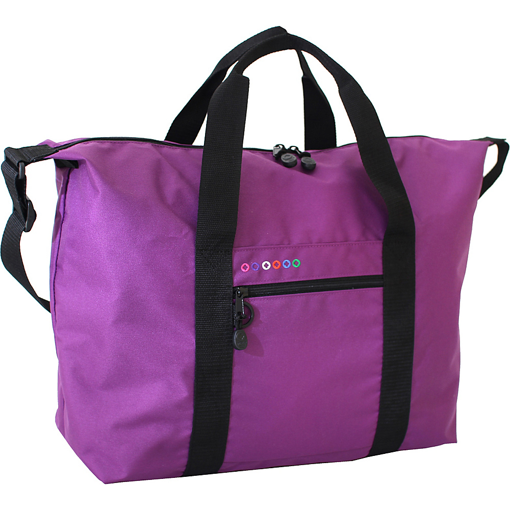 J World New York Lori Duffel Bag Purple - J World New York Travel Duffels - Duffels, Travel Duffels