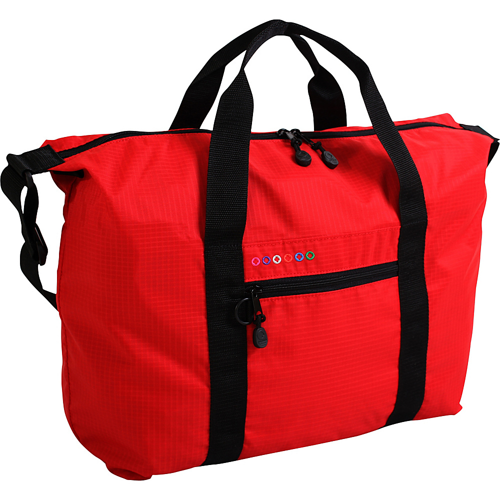 J World New York Lori Duffel Bag Red - J World New York Travel Duffels - Duffels, Travel Duffels