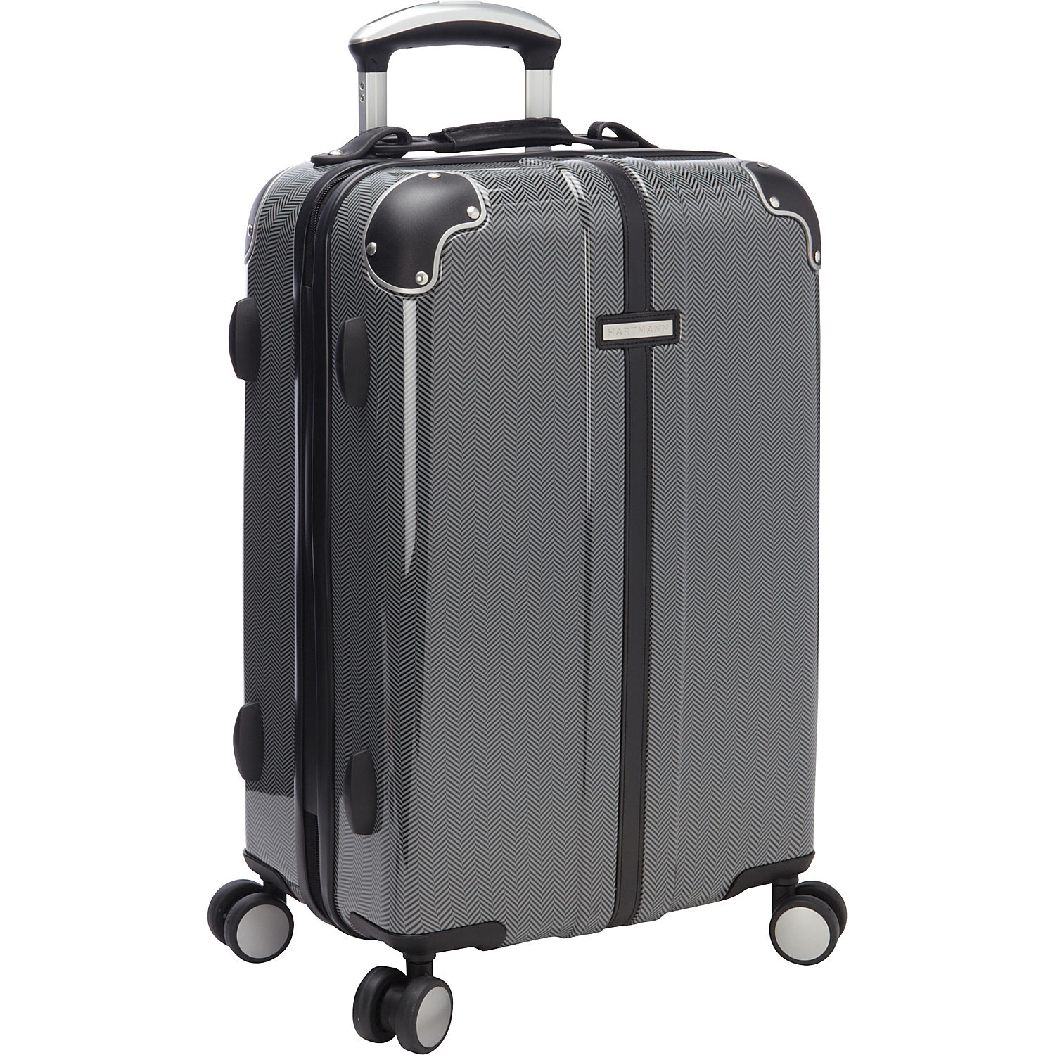 Hartmann Luggage Herringbone Hs Spinner 21 Ebags Com
