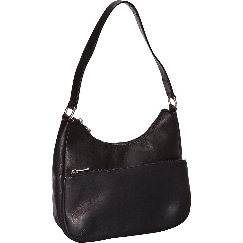 Le Donne Leather Astaire Hobo Black - Le Donne Leather Leather Handbags - Handbags, Leather Handbags
