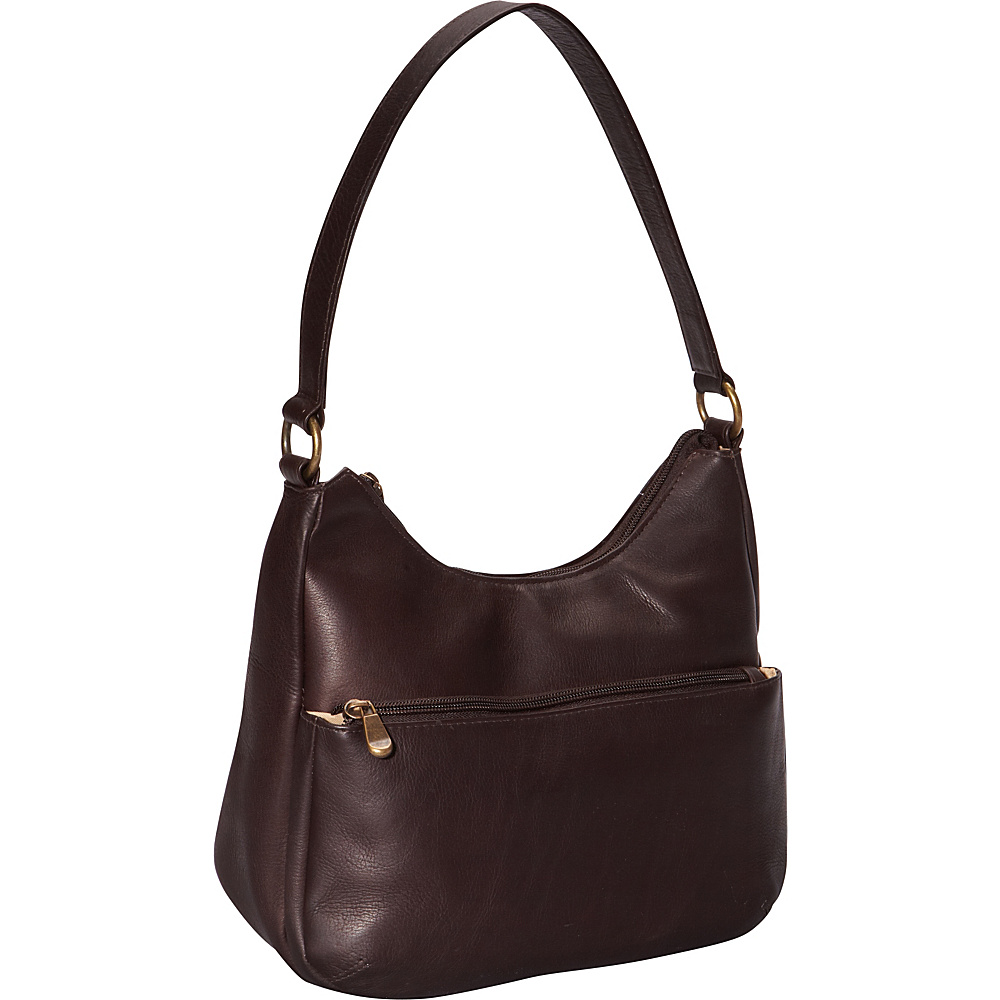 Le Donne Leather Astaire Hobo Cafe - Le Donne Leather Leather Handbags - Handbags, Leather Handbags