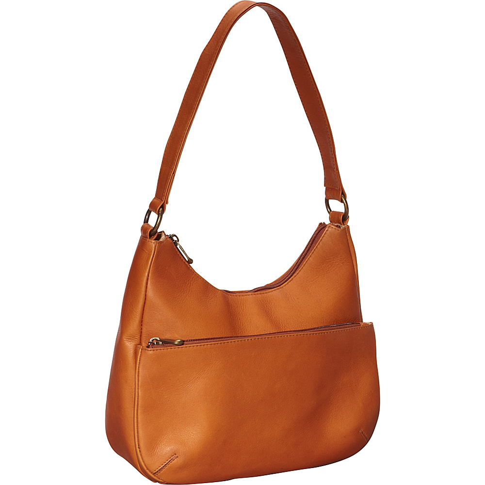 Le Donne Leather Astaire Hobo Tan - Le Donne Leather Leather Handbags - Handbags, Leather Handbags