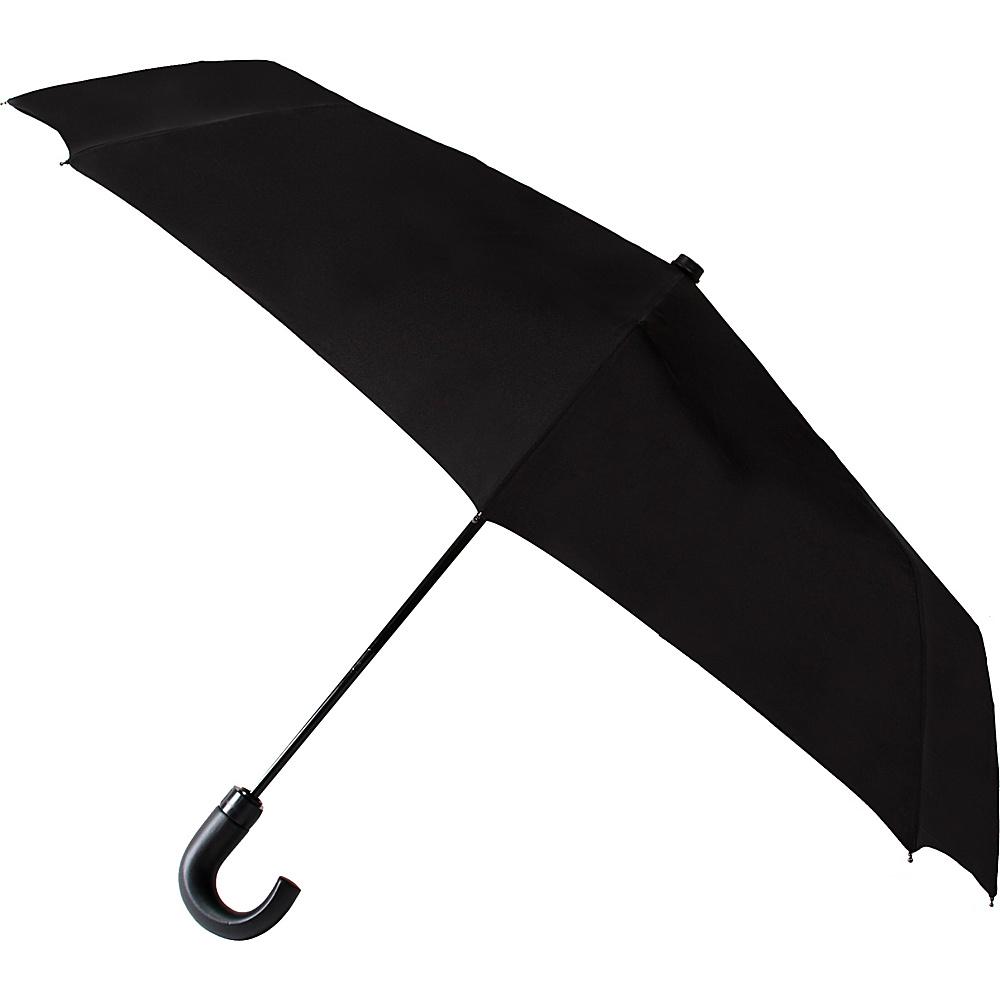 Leighton Umbrellas Kensington black Leighton Umbrellas Umbrellas and Rain Gear