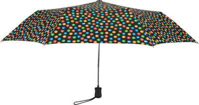 Leighton Umbrellas MTA NYC Indicator black multi - Leighton Umbrellas Umbrellas and Rain Gear