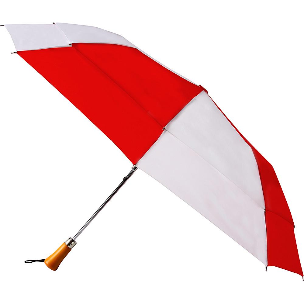 Rainkist Umbrellas Ace RED WHITE Rainkist Umbrellas Umbrellas and Rain Gear