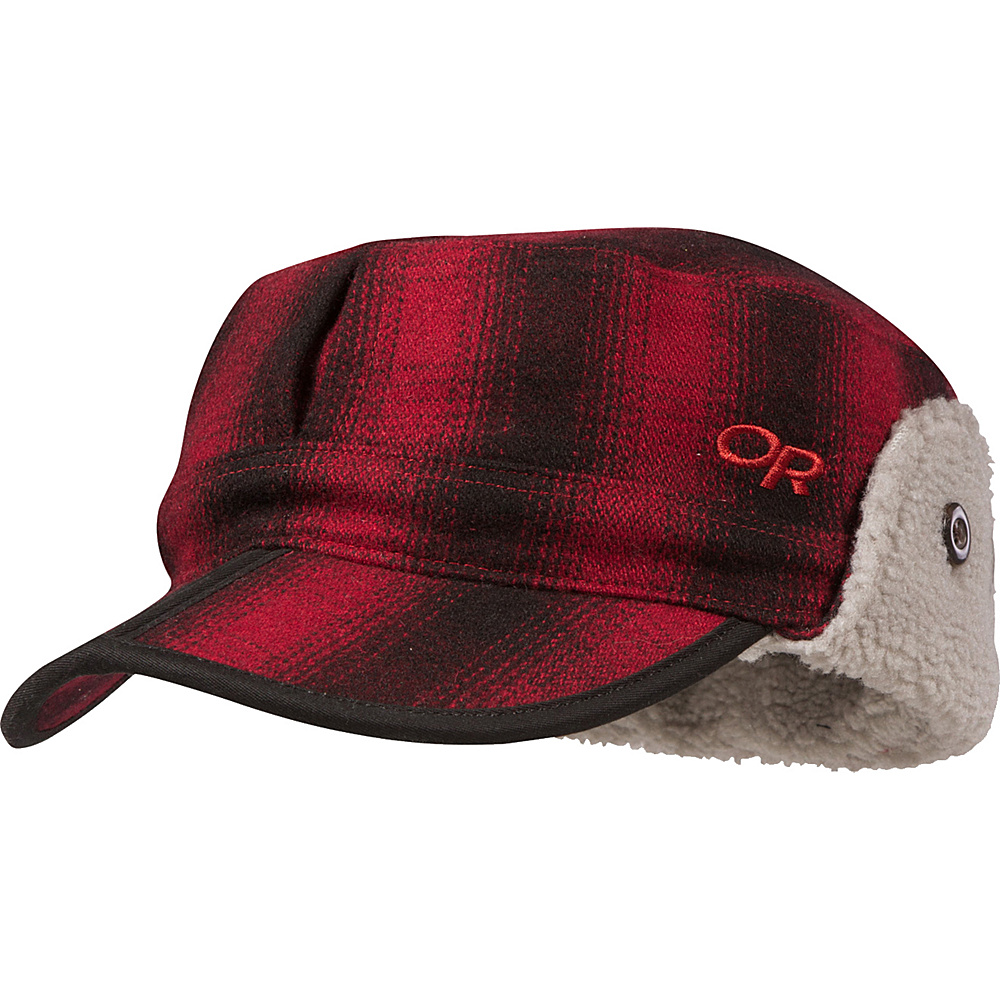 Outdoor Research Yukon Cap L - Redwood/Black – LG - Outdoor Research Hats/Gloves/Scarves - Fashion Accessories, Hats/Gloves/Scarves