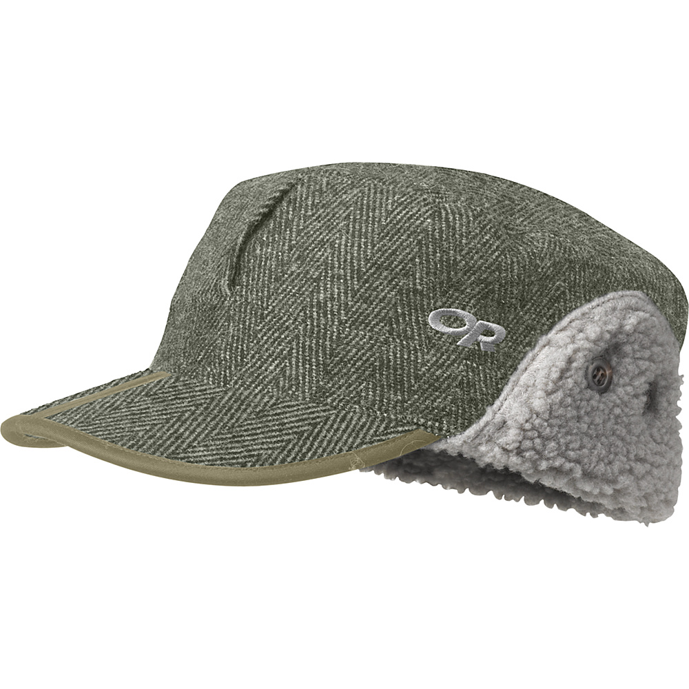 Outdoor Research Yukon Cap M - Peat Herringbone - Outdoor Research Hats/Gloves/Scarves - Fashion Accessories, Hats/Gloves/Scarves